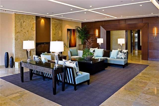 The Plaza Irvine Lobby